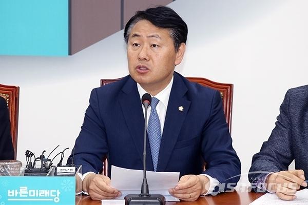 김관영 바른미래당 원내대표가 발언하고 있다. 사진 / 오훈 기자